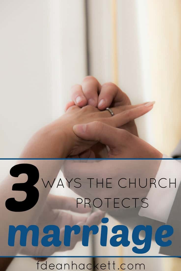 Here are three ways the church can protect marriage from being distorted by the evil plans of the enemy to erode our moral foundations.