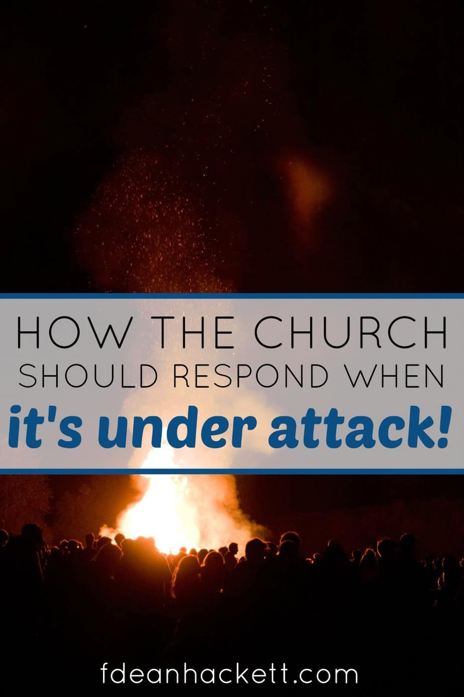 What should our response be when the church comes under attack? God has sent us to the front lines, our battle plan is important to our victory!