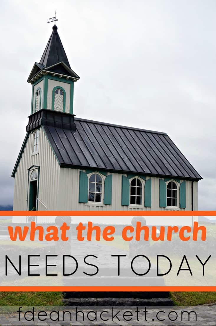 This is what the church in America needs today!