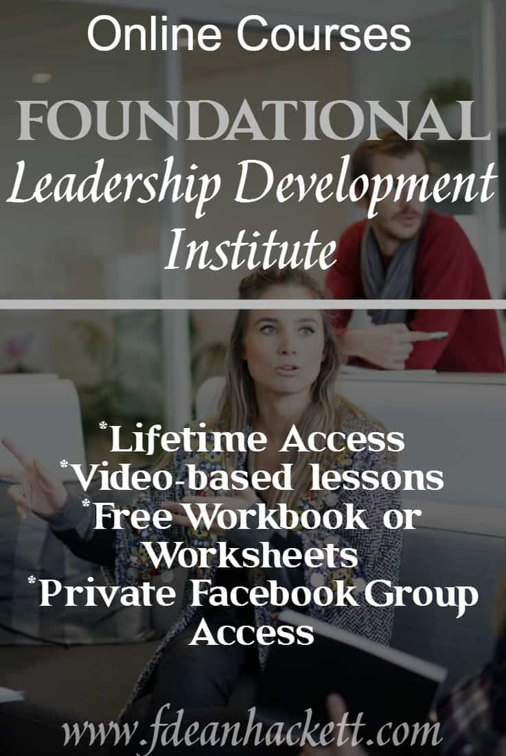Leadership Development Institute is a college level, non-accredited institute designed for advanced training in leadership development and spiritual formation.