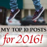 My Top 10 Posts for 2016