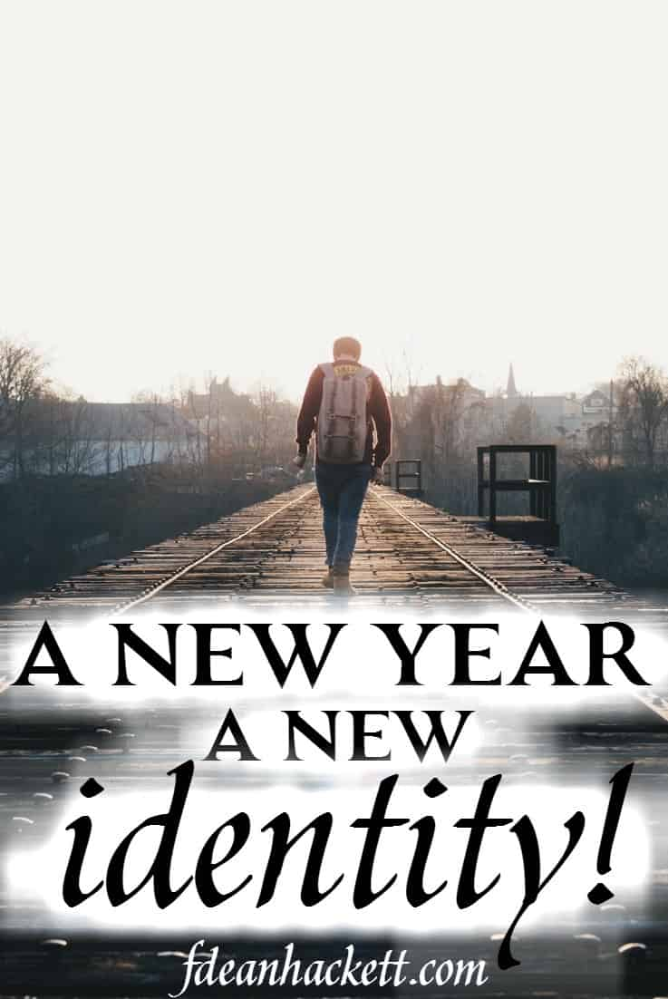 Embrace your new identity in Jesus Christ this year and begin walking free from the failures and hurts of your past.