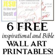 6 Free Inspirational Printables