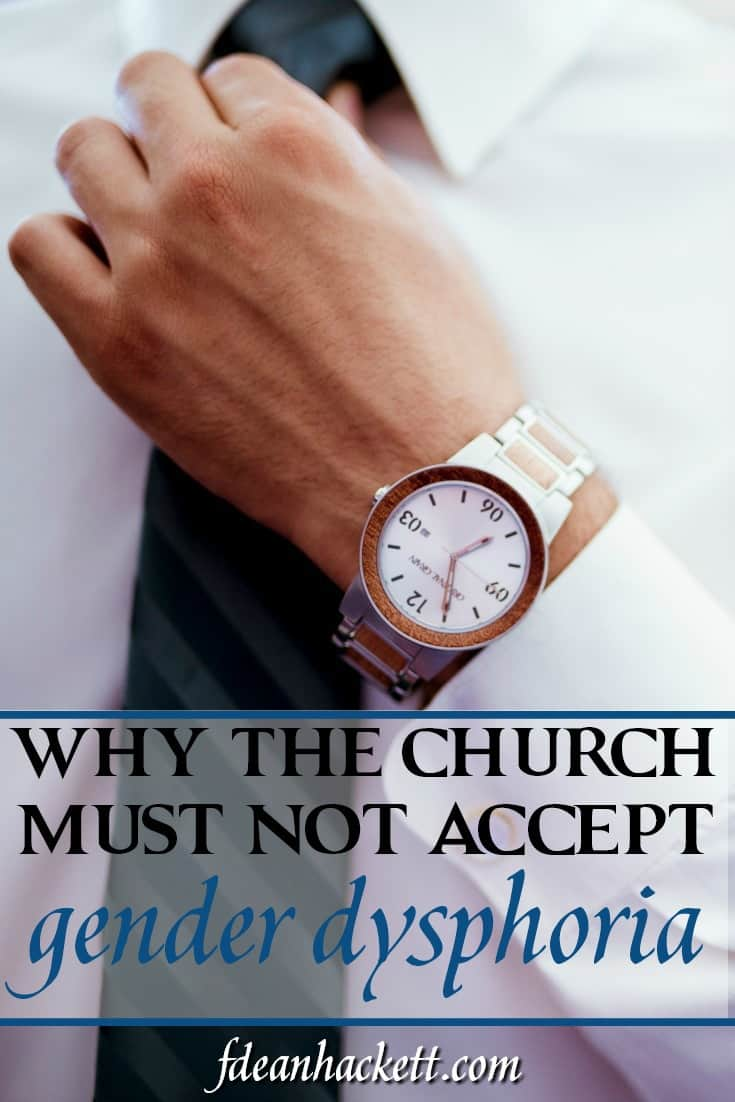 Should the church accept gender dysphoria as a disease and answer the call for diversity? Here is why the church cannot afford to do this!