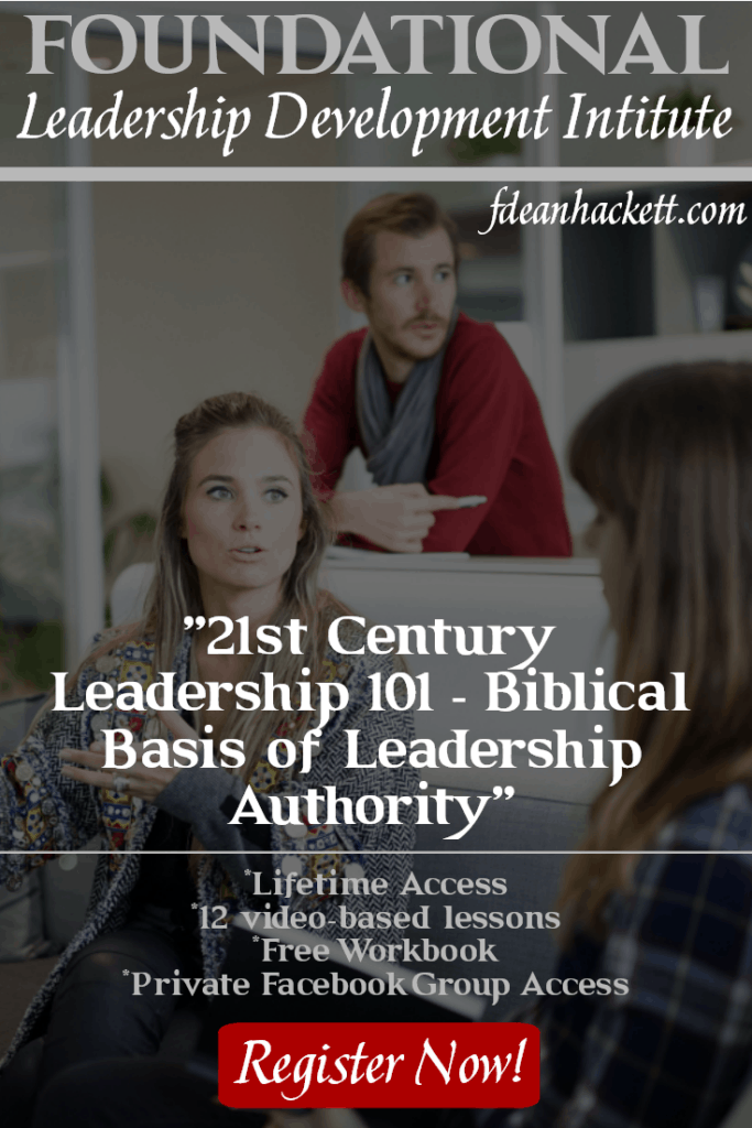 What is the basis for biblical leadership? What arenas of authority and limitation has God designed? Find the answers in the online course Leadership 101.