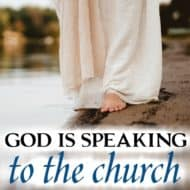 God is Speaking to His Church