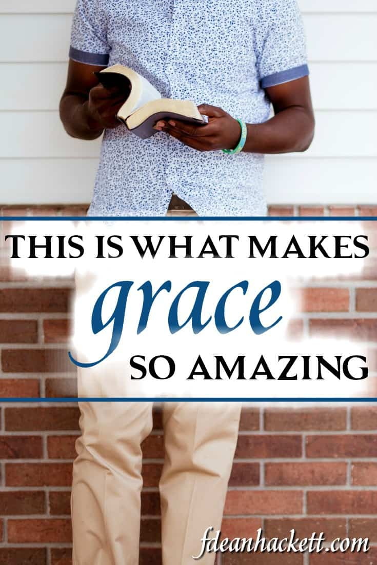 Is grace really amazing? If so, what makes grace amazing and how can that amazing grace impact our lives today? The answer is, of course, in the gospel.
