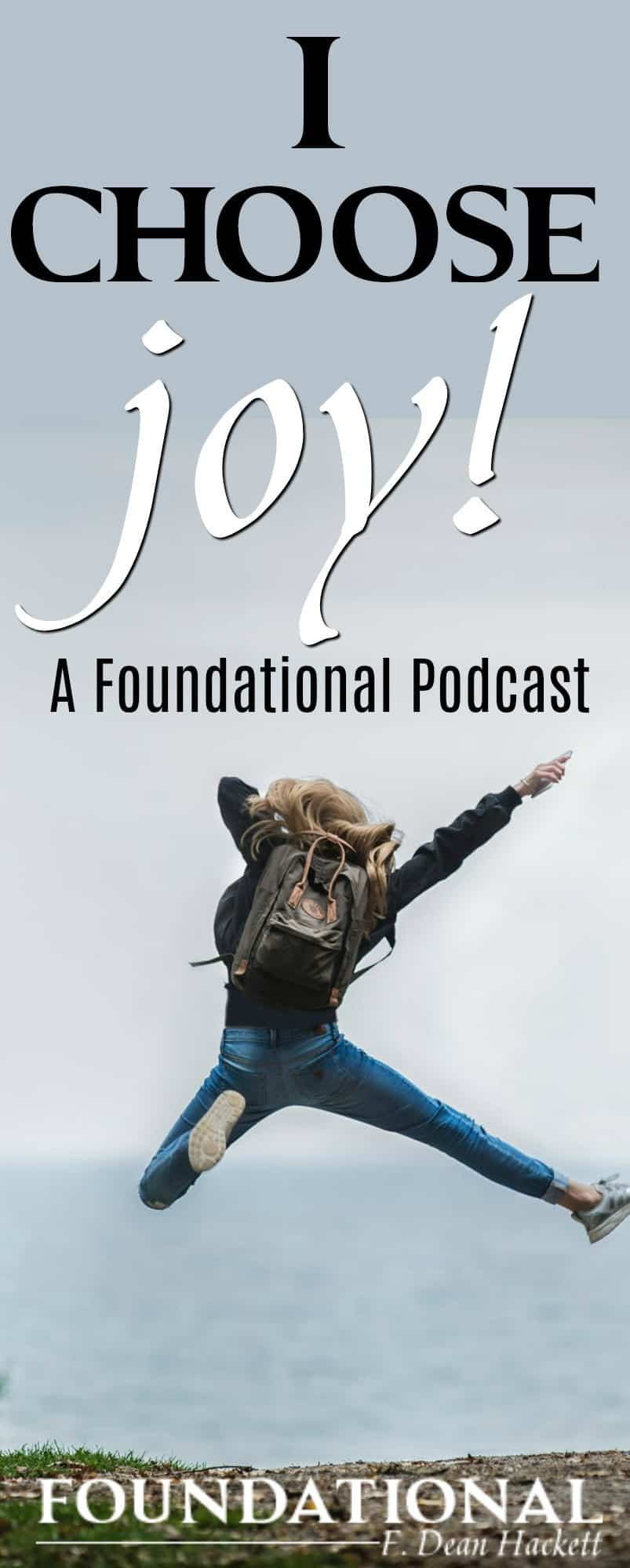 How do you deal with life when bad things happen? We can live a life of joy, even when evil things happen all around us. In this podcast we examine what Scripture teaches us about how to choose joy.
