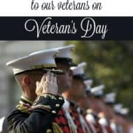 Heroes {4 Ways to Honor Our Veterans this Veteran's Day}