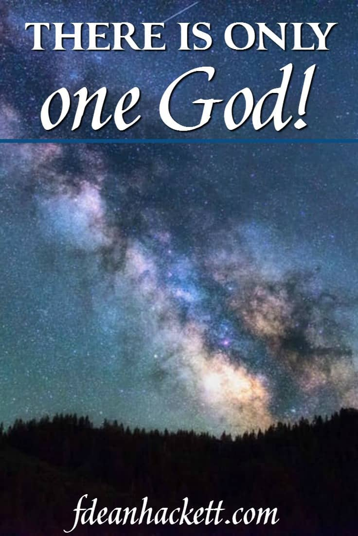 When we truly know God and His Character, we understand that we don't all worship the same God. There is only One God who can offer eternal life.