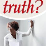 What is truth and who establishes truth? Government? God's Word? Is there an absolute set of moral truths that set the standard for the church and society? #Foundational #truth # Bible #tolerance #politicalcorrectness