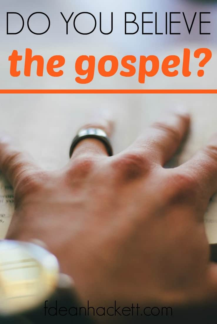 What is the gospel? What did the crown of thorns mean? What does the flogging of Jesus mean for me and my life today? Do you believe the gospel?