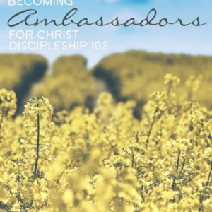 Becoming Ambassadors for Christ, volume 3 of a 3-part discipleship series, is an excellent manual for mature believers looking for deeper intimacy with Jesus.