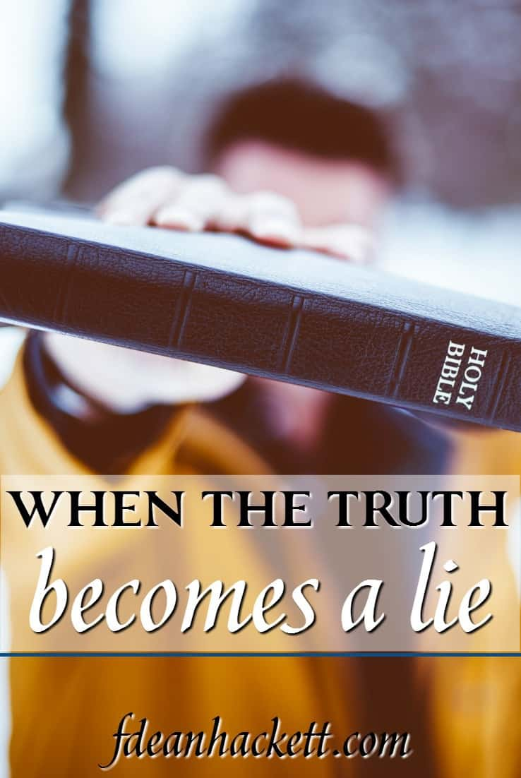 Much of today's church has not taken a firm stand on homosexuality. What should our response be when the truth becomes a lie?