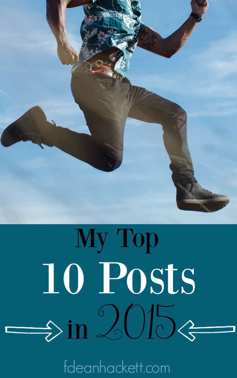 Check out my top 10 winners in 2015! These are my top 10 posts.
