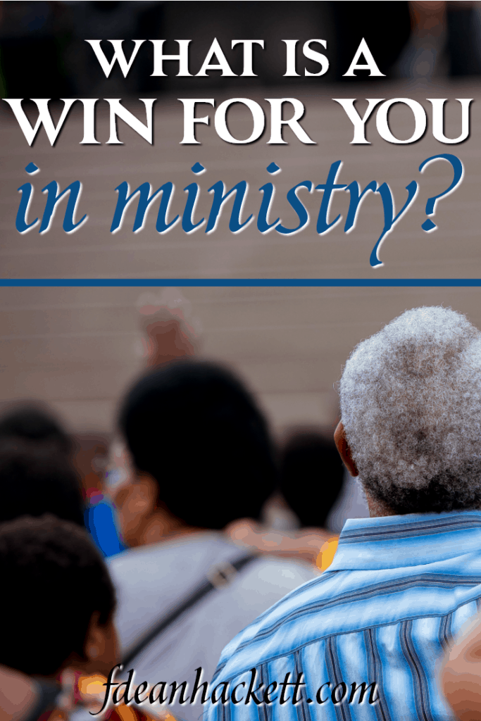 Many ministries define their win in ministry as crowds, great worship, healings and miracles. What this is how Jesus defines a win.