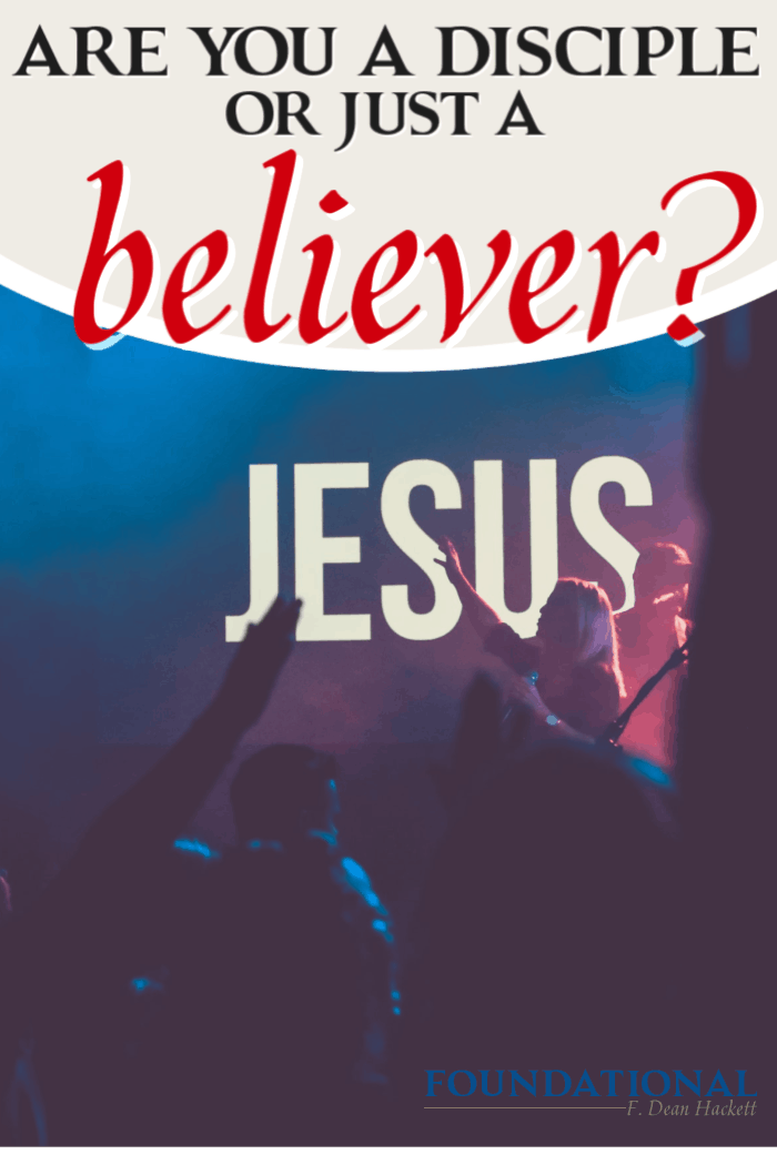 The question is simple: are you a disciple or just a' believer? In this podcast I talk about the importance of moving from believer to a disciple of Christ. #Foundational #podcast #Jesus #Bible #Christian