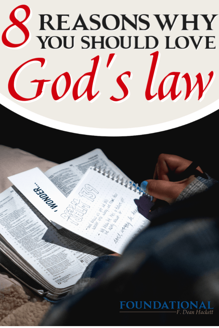 Many Christians want to believe that the Old Testament isn't relevant any longer. But loving the law isn't legalism. Here is why you should love God's law. #Foundational #lawofGod #legalism #Bible