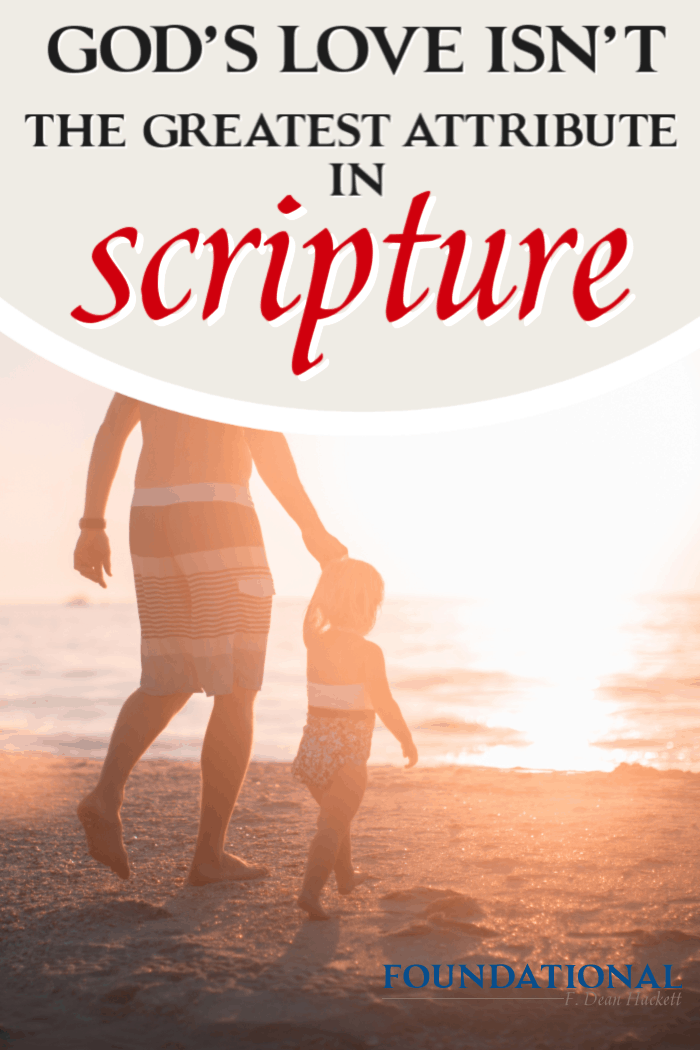 Scripture has a lot to say about God's love, mercy and grace, but these attributes do not have the greatest emphasis. One attribute is greater than these. #Foundational #Godislove #grace #holy #holiness
