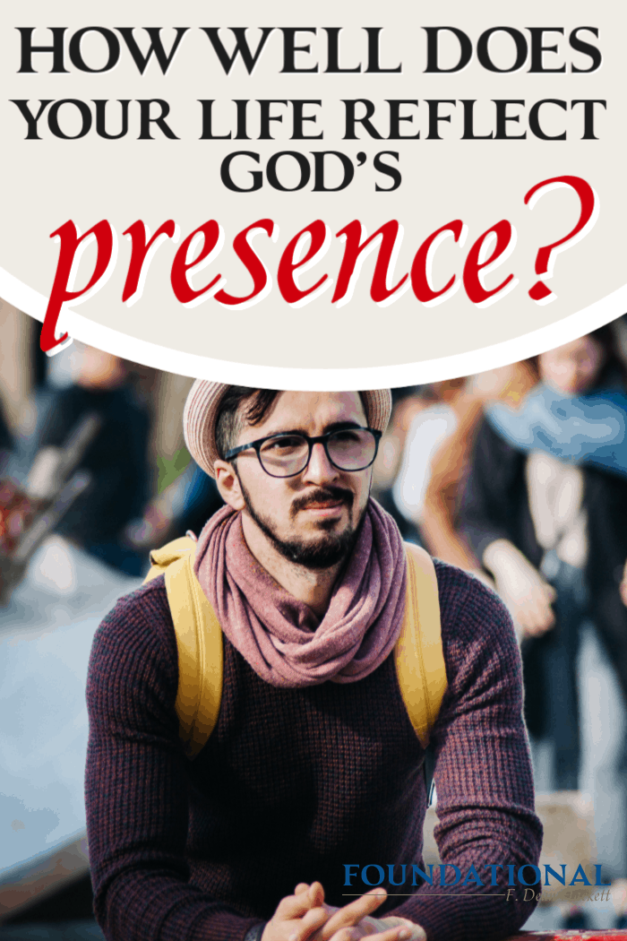 When we're saved, our body becomes a temple of the Holy Spirit. The question is if our temple is a sanctuary that reflects God's presence. #Foundational #grace #HolySpirit