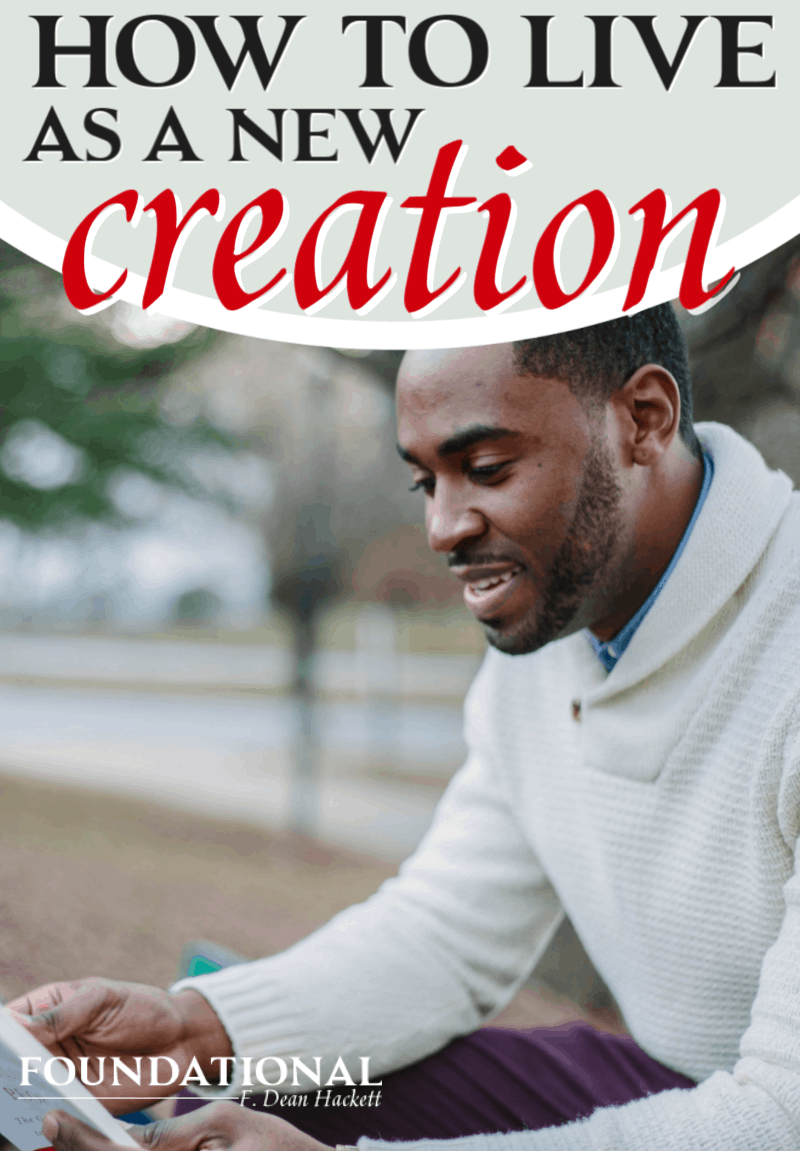 You are not just a sinner saved by grace, you are a new creation. Here is how to start live as the new creation God has made you to be. #Foundational #identityinChrist #christianliving #Jesus #Bible