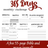 Read Through the Bible Challenge