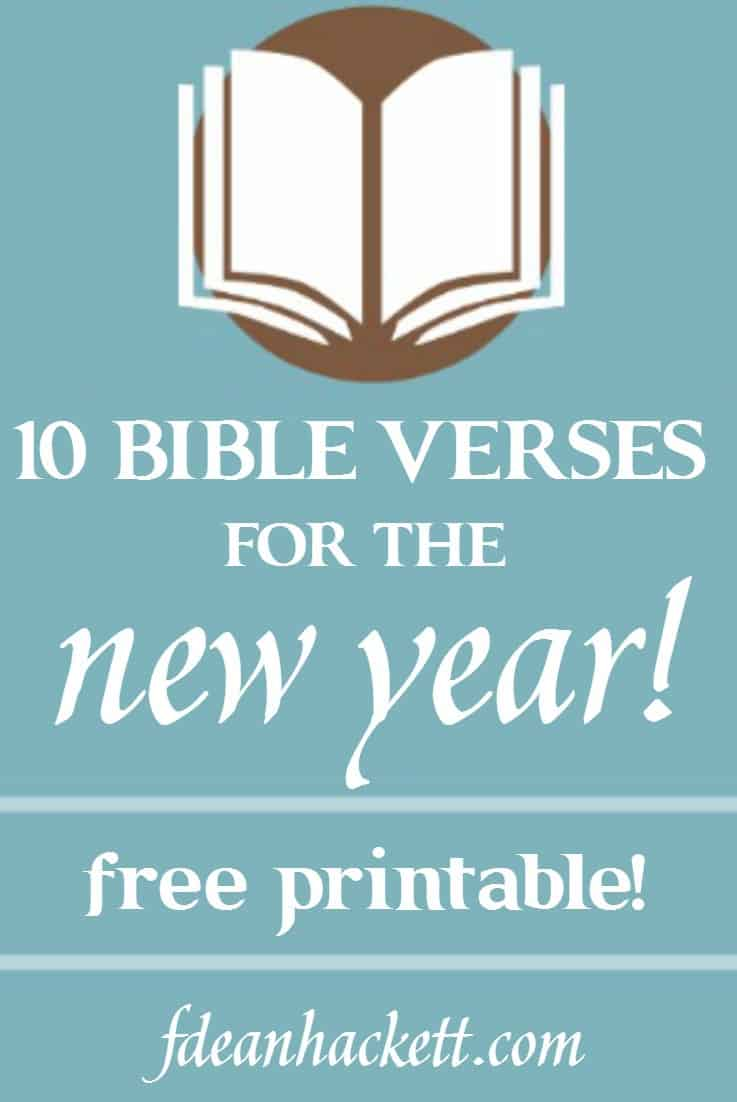 10 Bible Verses for the New Year - Foundational