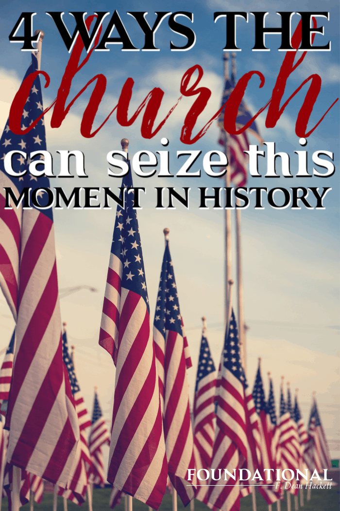 God is calling America back to repentance and this could be a moment for revival. Here are 4 ways the church can seize this moment in history. #Foundational #America #Revival #spiritualwarfare #Abortion #prolife