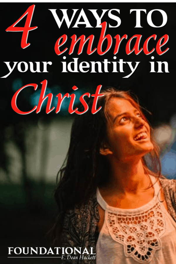 Embrace your identity in Christ this year and begin walking free from the failures and hurts of your past. Begin walking in the victory Christ has for you. #Foiundational #identityinChrist #renewingthemind #NewYear