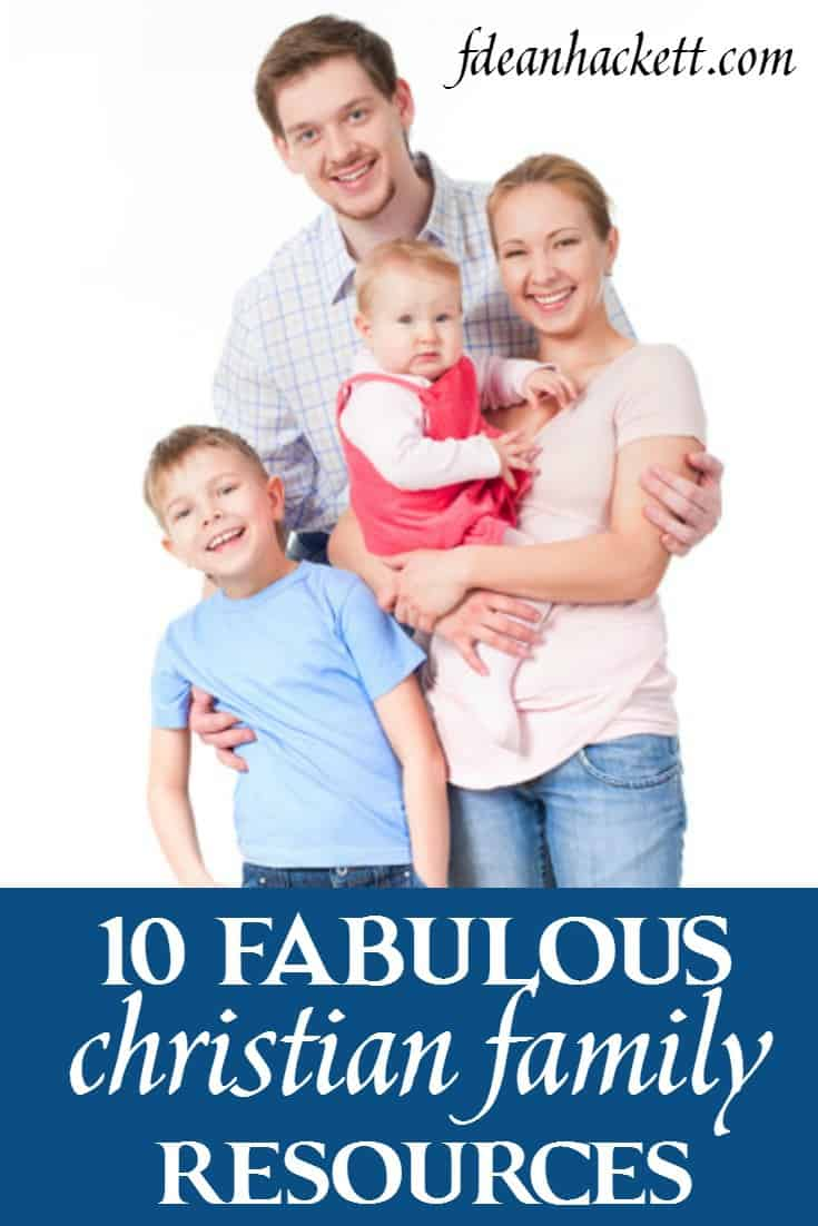 Raising a Christian family isn't easy today, but here are 10 fabulous resources that help Christian families raise a generation with a strong biblical foundation.