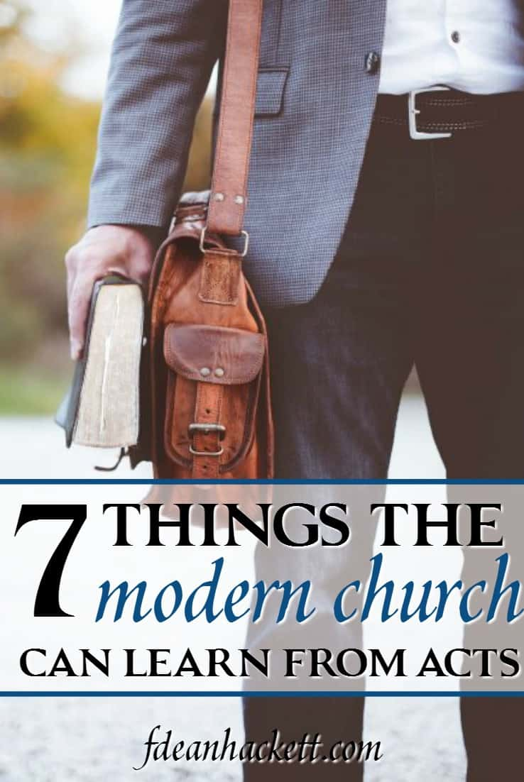 If the church today wants to see God move as He did in the New Testament, there are 7 things the modern church must learn from the Book of Acts.