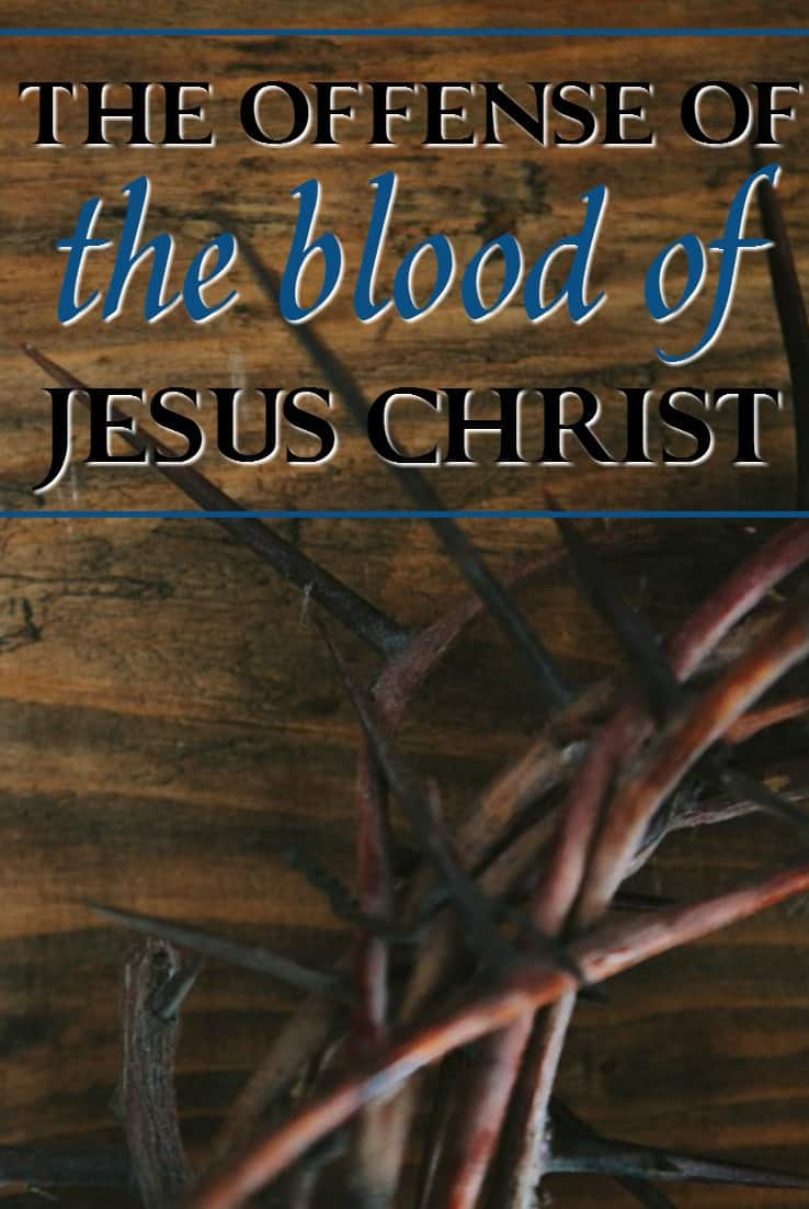 While modern society rejects the idea of blood sacrifices, the blood of Jesus Christ still remains the only salvation for all of mankind.