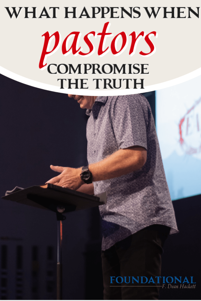 Who will stand in the gap in this generation when pastors compromise the truth and openly promote deception, delusions, and distortion? #Foundational #pastors #church #Bible #God