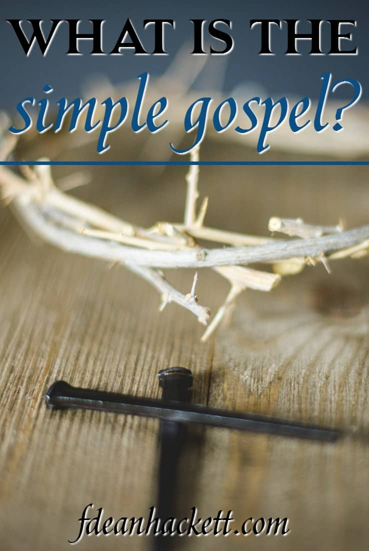 Many in the body of Christ are moving away from the simple gospel of Jesus Christ and are teaching easy grace without truth.