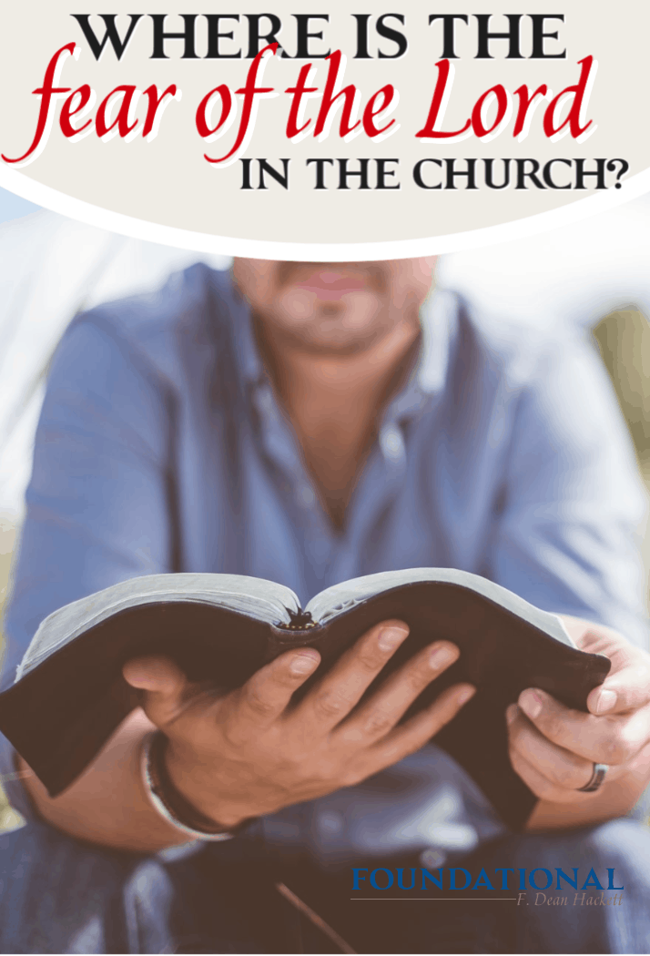 "The church is quickly becoming irrelevant to culture, leaving us to wonder, ""Where is the fear of the Lord in the church?"" #Foundational #Podcast #FearoftheLord #church"