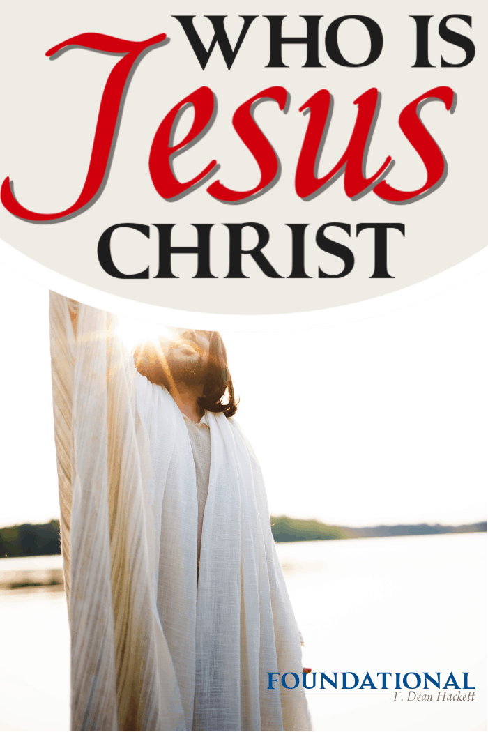 In order to understand how Christianity differs from all other religions, we must aswer the question, Who is Jesus Christ? #Foundational #Jesus #Bible