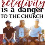 The danger facing the church today couldn't be greater; and we must recognize what that danger is if we hope to reach this generation with the gospel. #foundational #relativism #tolerance #modernchurch #church #God #JesusChrist #Bible