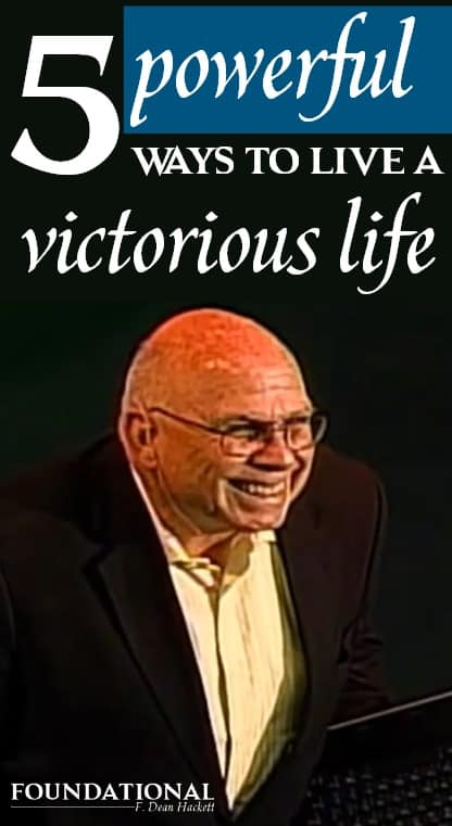 Are you still struggling to live the Christian life? There are 5 powerful things you need to do to live a victorious life in Jesus Christ and discover your true identity.