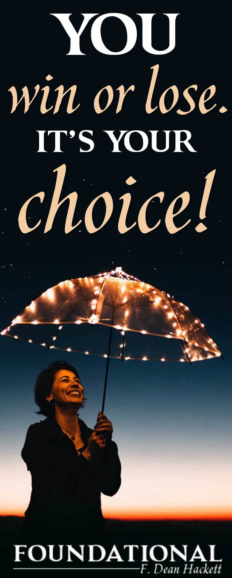 You win or lose by the way you choose; and the most important choice you will ever make in your life is for eternity. In this podcast episode, you'll find out why you can't delay in your decision.