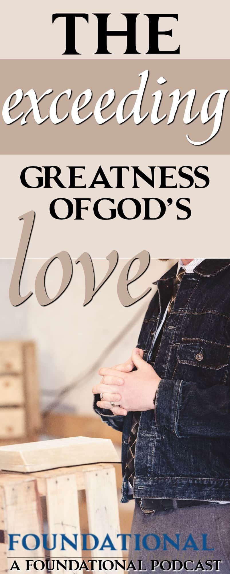 There are 5 things Ephesians tells us about the love of God that most have never really comprehended before. These five things about God's love will radically change your life. Listen to the podcast to find out what they are.