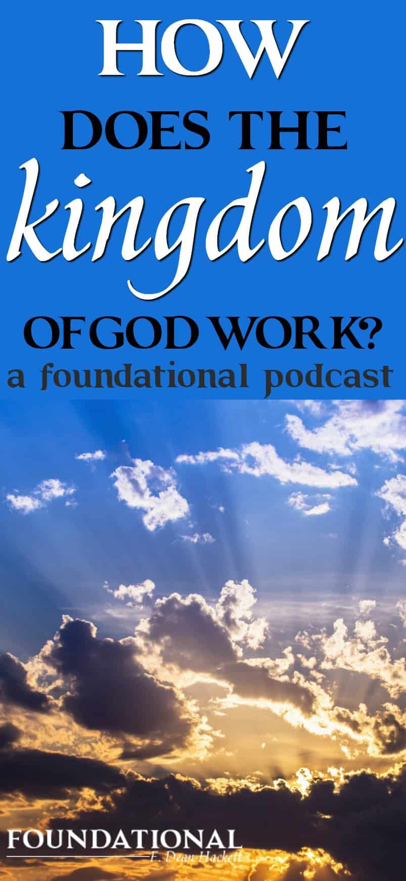 What makes the kingdom of God different from kingdoms on earth? Find the answers to these questions in this week's podcast. #Christianliving #Bible #Spiritualgrowth #spiritualwarfare #warroom #warrior #identityinChrist #God
