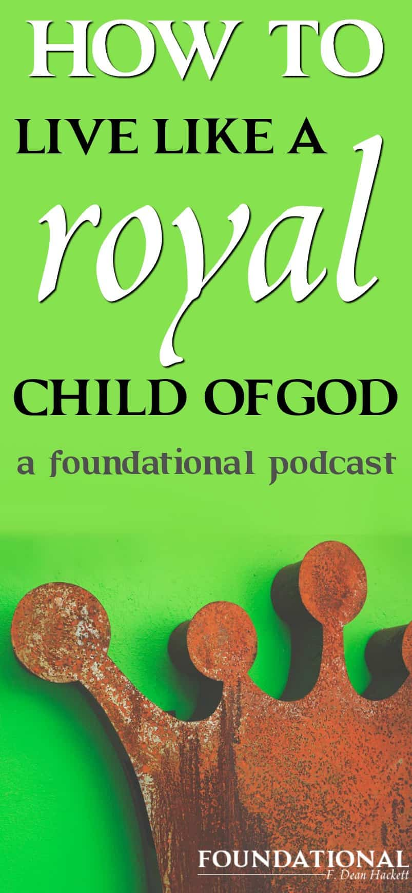 Most Christians don't know their identity as a child of God; they don't feel comfortable in their role as a royal son and daughter of God and so they live beneath their potential and the calling God has on their life.