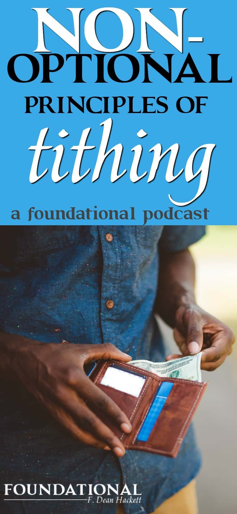 We know that the Old Testament talks about tithing, but does that mean that Christians must tithe today? #Christianliving #spiritualgrowth #money #tithe #Bible #Biblestudy #finances