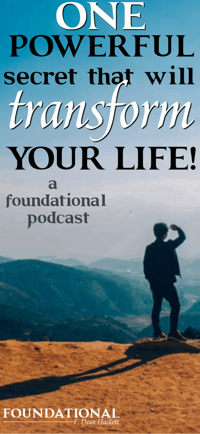 If you feel like you've failed and can't escape your past, this is the one powerful secret that will transform your life forever. #Foundational #life #identity #identityinChrist #JesusChrist #Bible #Easter