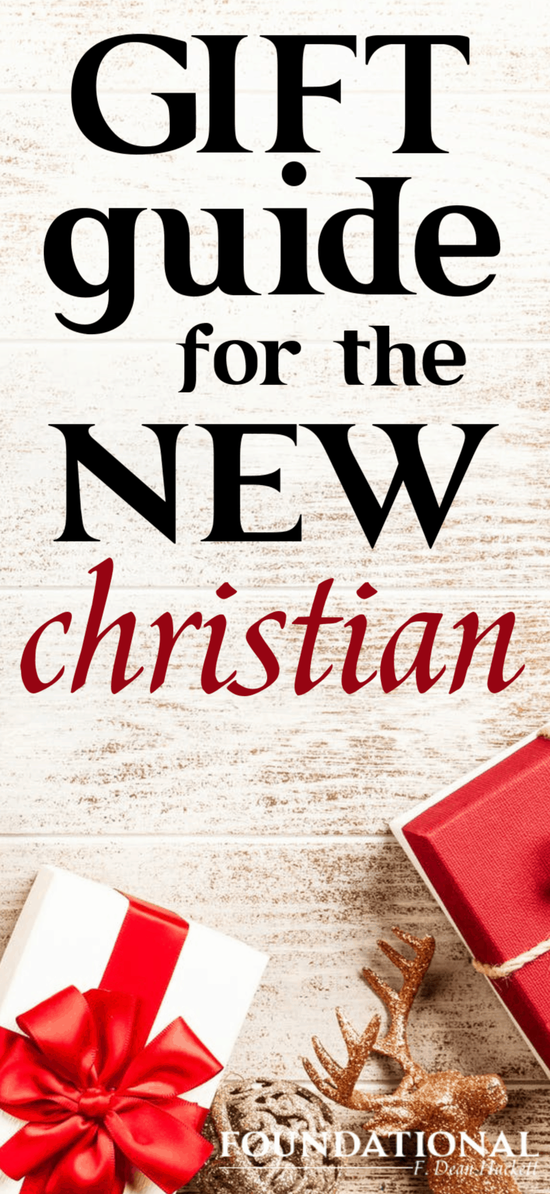 If you're looking for a meaningful gift for a new Christian, here are several ideas that are perfect for encouraging a new Christian to grow in their faith. #Foundational #Christian #Bible #Devotional #Quiettime #warroom