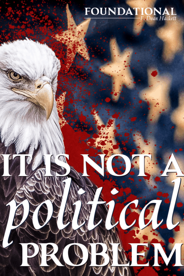 The problem facing America and the American church is not a political problem, it is a deeply spiritual problem and only a revival can fix it. #foundational #politics #political #revival #Americanhistory #enlightenment #postmodern #church