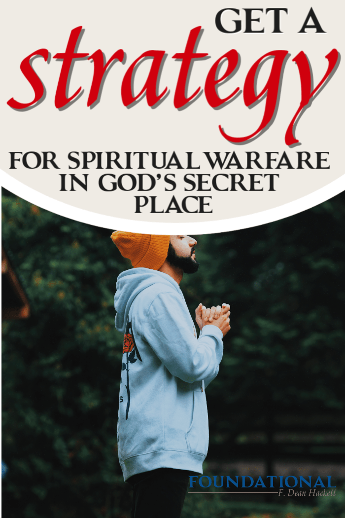 In today's podcast I share with you how God gives us a strategy for spiritual warfare when we choose to dwell in His secret place. #Foundational #podcast #secretplace #spiritualwarfare #warroom