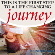 This is the First Step to a Life-Changing Journey