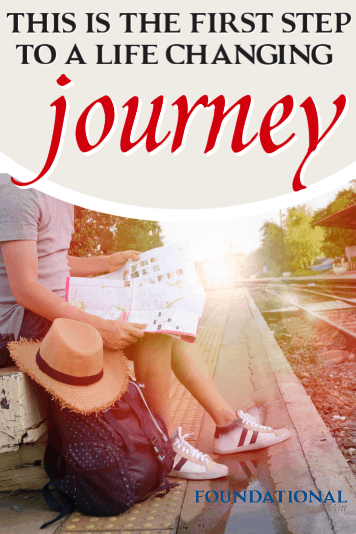 God is calling you to take a life changing journey with Him; it comes with a cost, but brings great blessing. Here is how to take the first step. #alittlerandr #adventure #God #Bible #onlineBiblestudy
