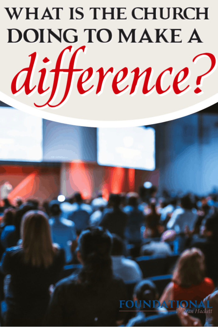 We are losing an entire generation to drug overdose, debauchery, immorality, and deception. What is the church doing right now to make a difference? #Foundational #podcast #church